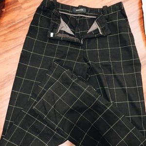 Versace twill dress pants
